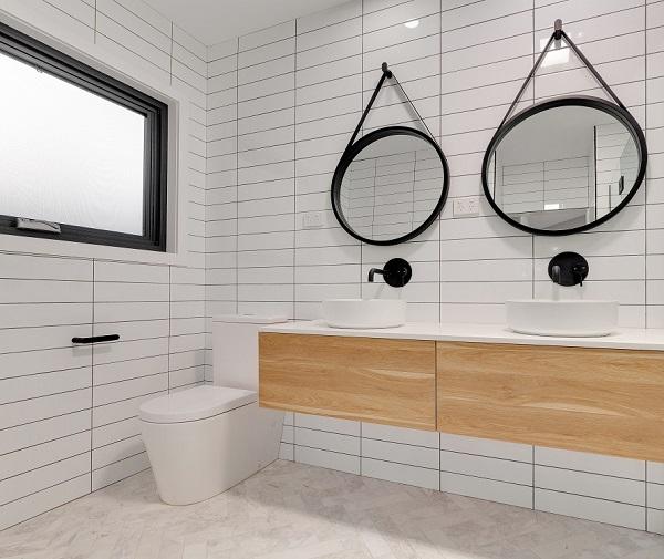 15++ mẫu gạch ốp nhà vệ sinh màu trắng đẹp nhất năm 2021