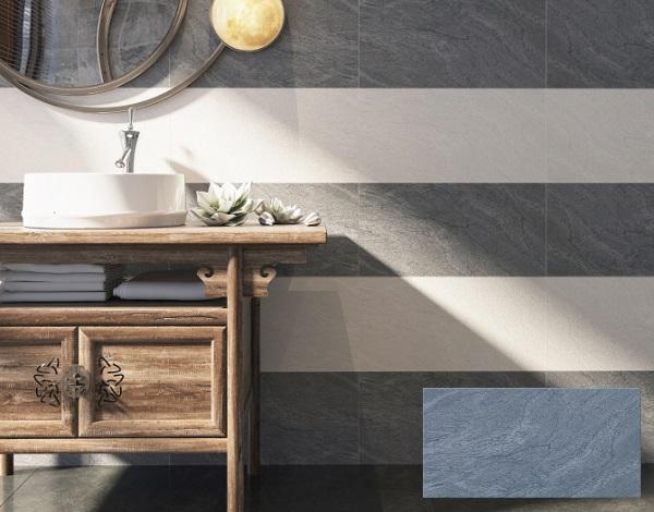 Mẫu gạch ốp nhà vệ sinh màu ghi Viglacera BS 3630
