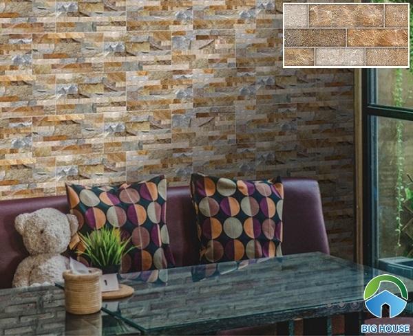 mẫu gạch prime 09813 càng tăng thêm vẻ đẹp cổ điển cho không gian sử dụng