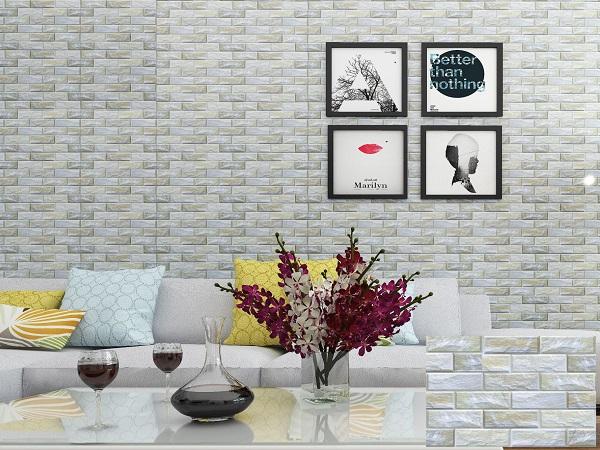 Gạch 30x45 mã BNC3410 màu trắng giả đá tự nhiên, đẹp hiện đại
