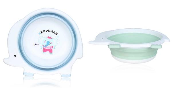 Chậu rửa mặt cho bé gấp gọn Kiza BFB002 thiết kế nhỏ gọn