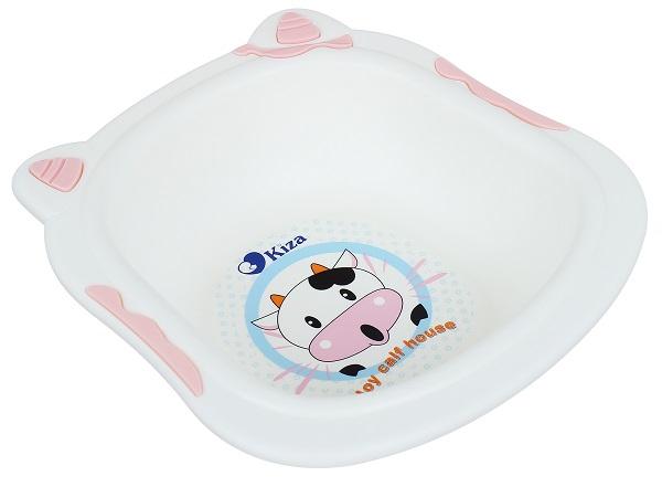 chậu rửa mặt cho bé sơ sinh Kiza BT005 với kiểu dáng nghộ nghĩnh, đáng yêu