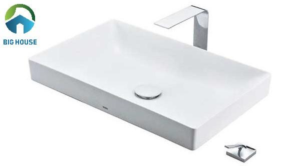 Chậu rửa mặt mini Toto LT4716MTG19 đặt bàn với thiết kế sang trọng