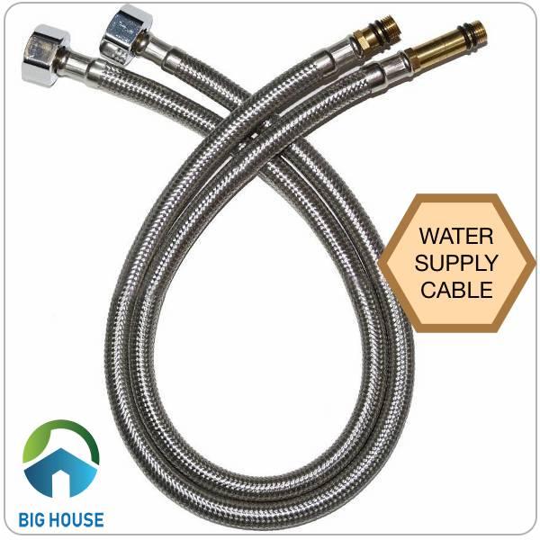 Dây cấp nước tiếng anh là water supply cable