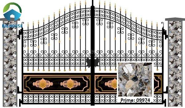 gạch giả đá ốp cột vân đá hoa cương Prime 09974 nổi bật
