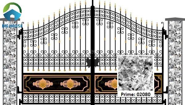 Mẫu gạch giả đá ốp cột Prime 02080 họa tiết chân thực, tự nhiên
