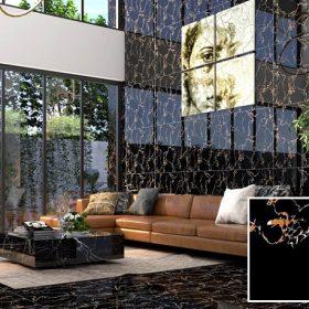 15++ mẫu gạch ốp tường màu đen Đẹp – Giá rẻ nhất 2021