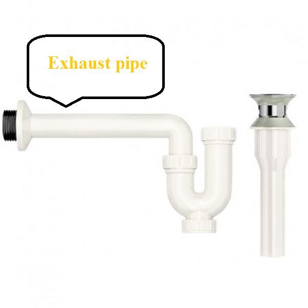 Ống xả trong tiếng anh là Exhaust pipe
