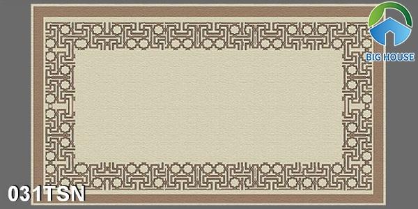 Mẫu gạch thảm phòng thờ hình chữ nhật 031TSN