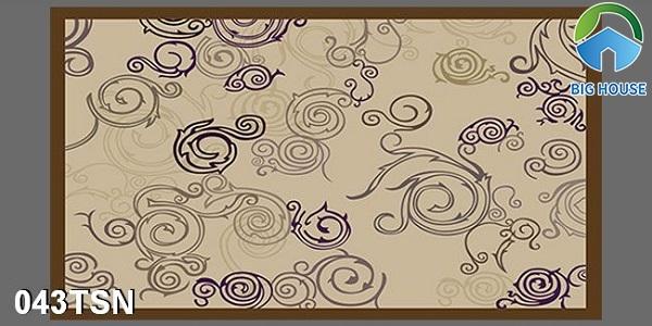 Gạch thảm 043TSN họa tiết hoa văn cổ điển