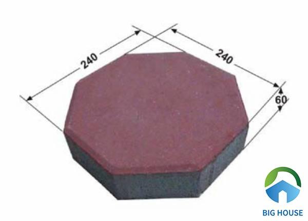 Gạch block bát giác đa dạng về màu sắc