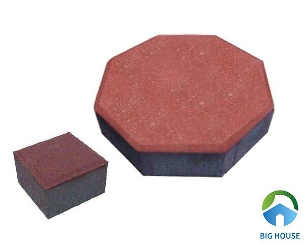 Gạch block bát giác mang nhiều ưu điểm vượt trội