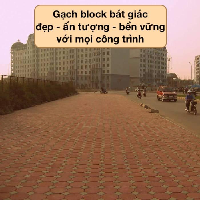 Gạch block bát giác là gì? Top Mẫu Đẹp kèm Báo Giá mới 2021