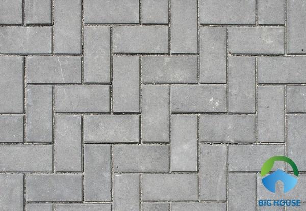 Gạch bê tông tự chèn hình chữ nhật