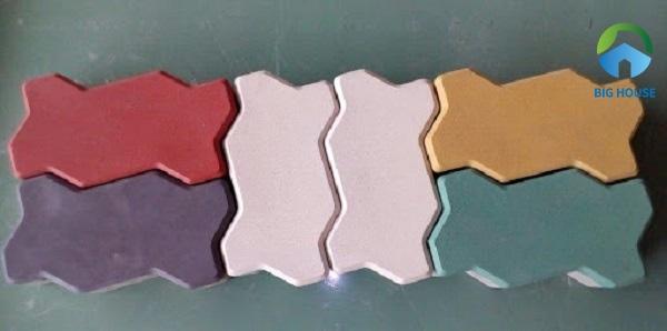 Gạch con sâu đa dạng về mẫu mã, màu sắc