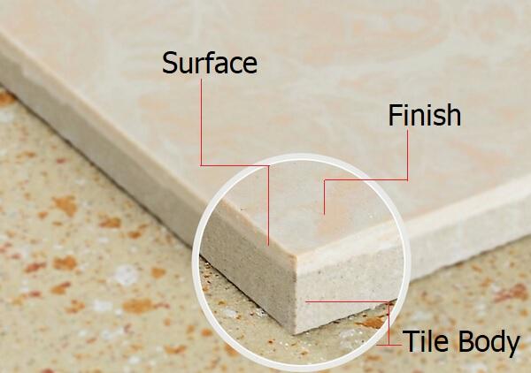 Bề mặt gạch trong tiếng Anh là Tile Surface