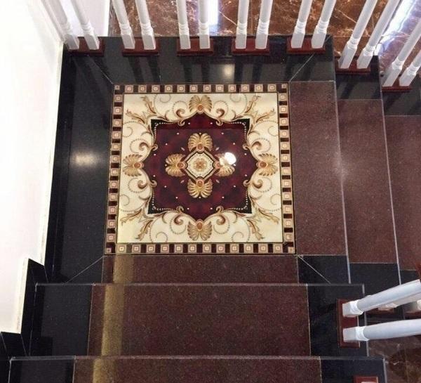 Gạch thảm lát chiếu nghỉ cầu thang