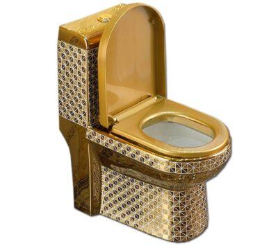 Top Mẫu thiết bị vệ sinh mạ vàng Đẹp – Sang trọng nhất hiện nay