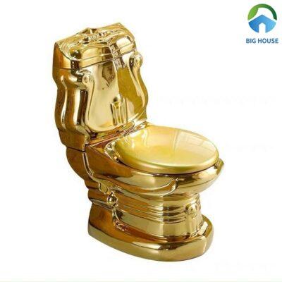 Top 3 mẫu bồn cầu mạ vàng khẳng định đẳng cấp gia chủ
