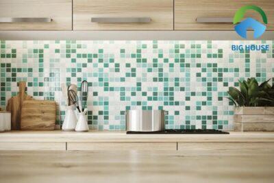 Gạch mosaic màu xanh ngọc: Top mẫu đẹp kèm báo giá mới nhất