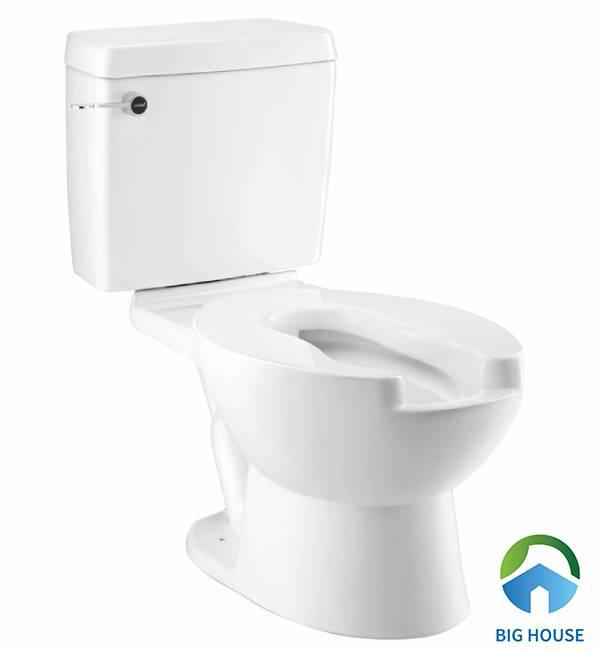 Thiết bị vệ sinh cho người già là mẫu bồn cầu Cotto SC6657 với thiết kế bệ ngồi đặc biệt