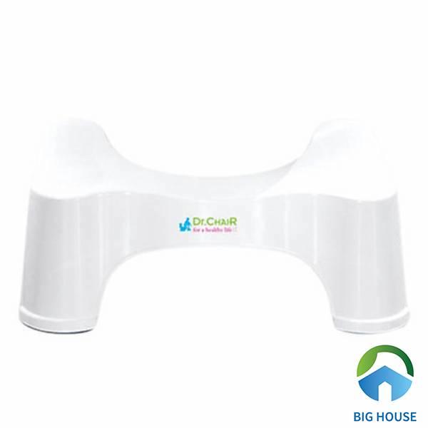 Ghế kê chân Toilet Dr.ChaiR giúp người già có thể đi vệ sinh thoải mái