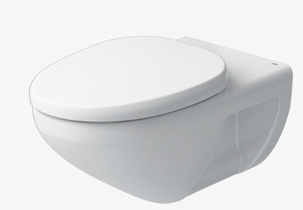 Bồn cầu Inax AC-23PVN treo tường ngang, men Aqua Ceramic trắng sáng