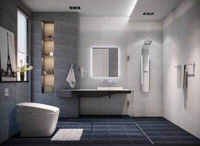 Có nên thiết kế nhà vệ sinh âm sàn không? Giải đáp thắc mắc