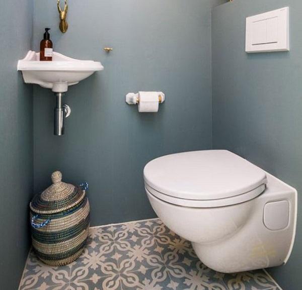 Phong thủy khi thiết kế nhà vệ sinh 1m2 cũng rất được chú trọng