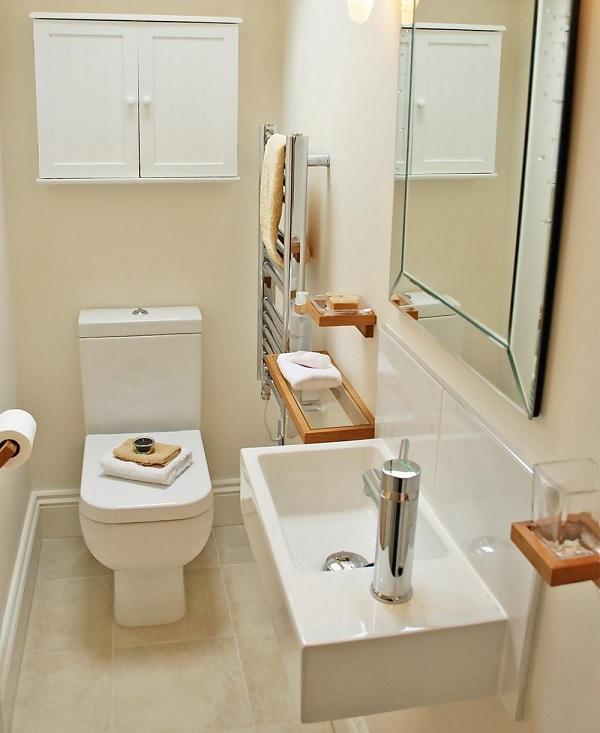 Thiết kế nhà vệ sinh 1m2 với các sản phẩm thiết bị hiện đại và nhỏ gọn