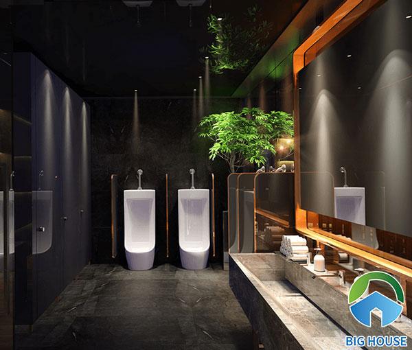 Thiết kế nhà vệ sinh cho quán cafe
