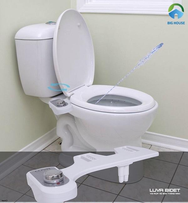 Vòi rửa vệ sinh thông minh Luva Bidet LB101 sản xuất với công nghệ Hàn Quốc