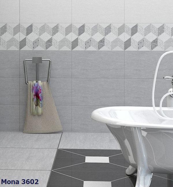 Gạch viền 30x60 ốp tường MONA 3602 bề mặt men matt chống bám bẩn