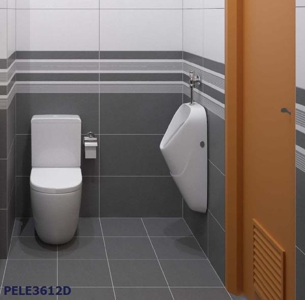 Gạch viền 30x60 ốp tường PELE 3612D họa tiết tối giản cho phong cách Minimalism