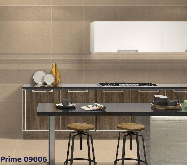 Mẫu gạch viền tông màu nâu đậm Prime 09006 phù hợp cho không gian phong cách cổ điển
