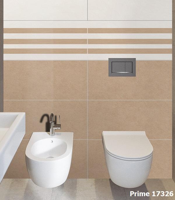 Mẫu gạch viền 7x60 Prime 17326 cho không gian phòng tắm