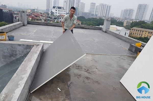 Sử dụng tấm mát ốp mái giúp nhà luôn mát mẻ
