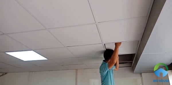 Chọn tấm gạch mát ốp trần chống nóng hiệu quả