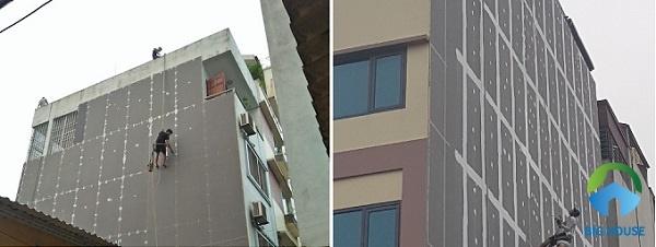 Sử dụng tấm gạch mát để ốp tường chống nóng hiệu quả